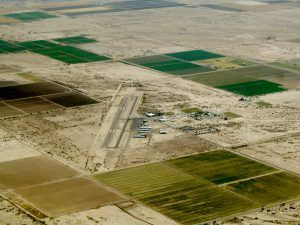 Birds eye view of Casa Grande Municipal Airport