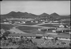 Overview of Gila River Relocation Center