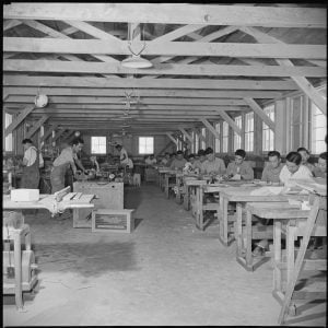 Work camp at Gila River Relocation Center