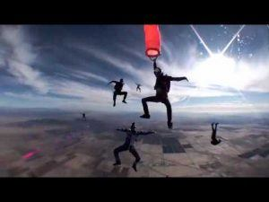 Six people skydiving in Casa Grande, Arizona